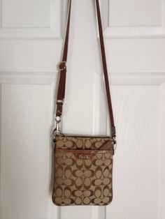 Available @ TrendTrunk.com Authentic Coach Cross Body Bag!. By Coach. Only $88.00!