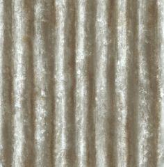 Corrugated Metal Industrial 33 X 205 Geometric Panel Wallpaper
