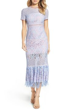 Foxiedox Flourite Crochet Maxi Dress available at #Nordstrom