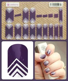 4 to 5 applications out of one sheet of Jamberry Nail Wraps. Go to: www.glamthenails.jamberrynails.net  That is salon quality nails at a fraction of the price. Pictured is Arrowhead (A211)