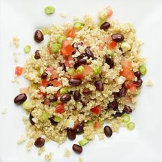 Quinoa. Black Beans. Fresh Veggies. This fat-burning, energy-boosting recipe is possibly the healthiest meal you'll ever make! | health.com