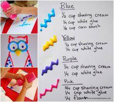 Recettes de peinture 3D sans cuisson! 4 recettes au total! - Trucs et Astuces - Trucs et Bricolages
