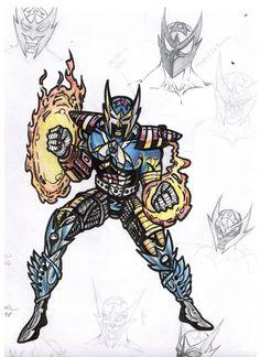 America Flamestar by mazedicer.deviantart.com on @deviantART