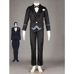 Black Butler claude faustus cosplay costume at eshopcos.
