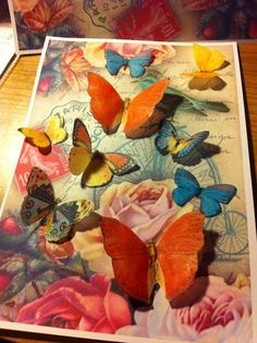 Vintage Edible Butterfly's by TheCupcakeCompany1 on Etsy, £3.50