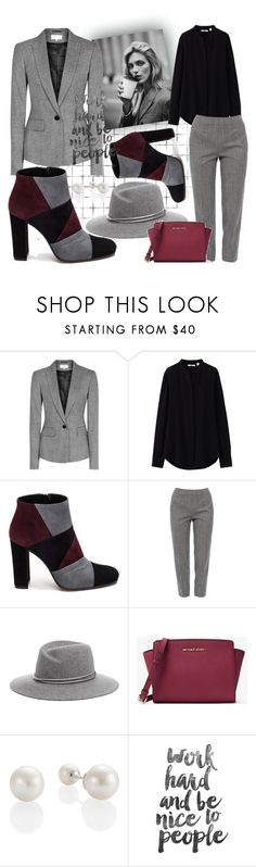 """""""WorkStyle ⭐"""" by explorer-148461648110 ❤ liked on Polyvore featuring Anja, Reiss, Uniqlo, Roberto Festa, Piazza Sempione, MICHAEL Michael Kors and Work"""