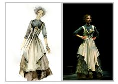 Dr. Jekyll and Mr. Hyde (Elizabeth). University of Texas at Austin. Costume design by Yao Chen. 2011