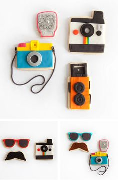 Camera Cookies party cookies camera cookie party ideas party favors party decorations party fun party idea pictures