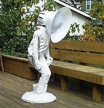 Pixar Lamp Halloween Costume! Sooo funny! Watch the video through the link...so awkward haha