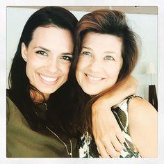 Torrey DeVitto and Daphne Zuniga