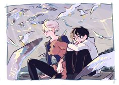 Find images and videos about yuri on ice on We Heart It - the app to get lost in what you love. Manga Anime, Anime Art, ユーリ!!! On Ice, Yuri On Ice, Drawing Reference, Find Art, Art Inspo, Lgbt, Otaku