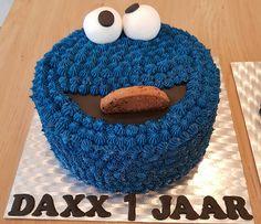 Koekiemonster cake