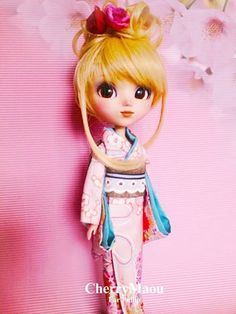 Voici le Kimono pour Pullip! Production en cours...... Here's the Kimono for Pullip! Current production......