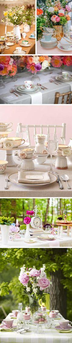 Como montar uma mesa de chá da tarde? | Blog Lolahome