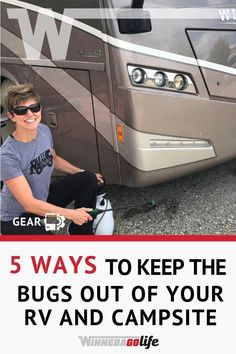 5 ways to keep bugs out of your motorhome and campsite, Diy Camping, Camping Hacks, Camping Gear, Campsite, Rv Hacks, Camping Supplies, Camping Kitchen, Camping Cooking, Camping Equipment