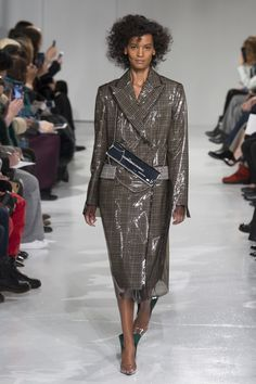 CALVIN KLEIN Fall 2017 Ready-to-Wear Fashion Show - Liya Kebede