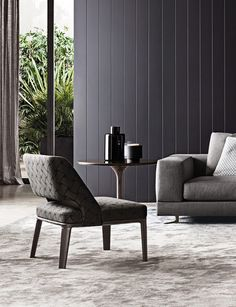 62970e4a49a Owens Armchair de Minotti Staging Furniture