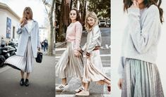 How to wear metallic skirt · Oh Maria!