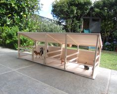 LUCY AND I: DIY horse stable