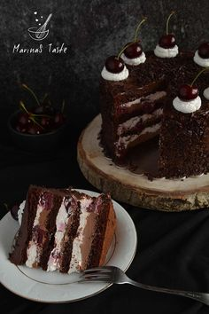 Delicious Chocolate, Chocolate Desserts, Baking Recipes, Dessert Recipes, Torte Recepti, Croatian Recipes, Cake Cookies, No Bake Cake, Sweet Recipes