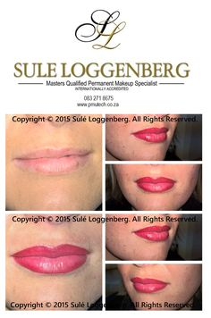 3D Lips, by Sulé Loggenberg MMPSI. Permanent Makeup Technology www.pmutech.co.za ‪#‎Work‬ ‪#‎LovingIt‬ ‪#‎Oron57‬ Copyright © 2015 Sulé Loggenberg. All Rights Reserved.
