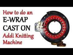Knitting Patterns Mittens How to Knit Ribbing on your Addi Express Knitting Machine / Yay For Yarn Addi Knitting Machine, Circular Knitting Machine, Knitting Machine Patterns, Loom Knitting, Knitting Socks, Knit Mittens, Crochet Patterns, Knitting Videos, Charity Knitting