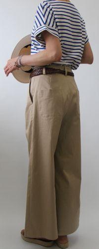 ワイドパンツ - 布と型紙のお店クルール