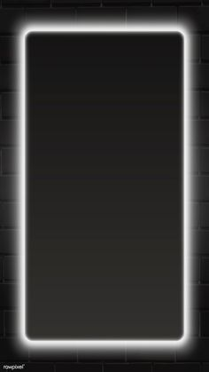 Rectangle white neon frame mobile screen template vector | premium image by rawpixel.com / Aew Phone Wallpaper Design, 4k Wallpaper For Mobile, Framed Wallpaper, Neon Wallpaper, Phone Screen Wallpaper, Graphic Wallpaper, Apple Wallpaper, Wallpaper Quotes, Iphone Wallpaper