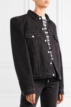 Balenciaga - Denim Jacket - Black - FR34