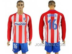 http://www.jordanaj.com/atletico-madrid-16-correa-home-long-sleeves-soccer-club-jersey.html ATLETICO MADRID #16 CORREA HOME LONG SLEEVES SOCCER CLUB JERSEY Only $20.00 , Free Shipping!