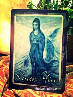 """Welcome Enlighten Ones, The Angels Love us so much that they selected the """"Kuan Yin"""" card for today's reading. Enjoy the journey of life. Be not afraid of its mysteries. Take a chance & follow your heart, for you are being guided by an Angel. ~ My Amazing Brothers & Sisters, if you have been wavering about proceeding with something that you really want to do, this is your confirmation.. go right ahead! Namaste with Divine Light, I am, Cindy xox cindyshealing.com"""