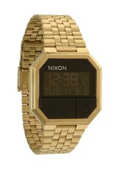 Nixon RE RUN ALL Gold UHR Watch | eBay