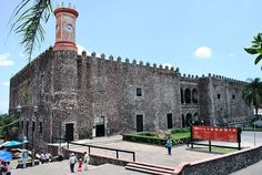 Palace of Hernan Cortes. Cuernavaca, Morelos, Mexico.  I was there.  Its beautiful