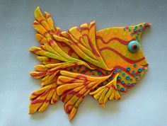 Fin Dancer 3D Large Fish Magnet or Wall Art in by MysticDreamerArt, $20.00