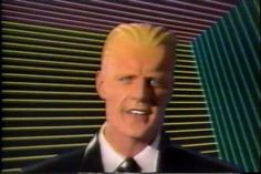 M-M-Max Headr-r-room, the loveable glitch. The show did a fantastic job of dehumanizing actor Mat Frewer