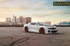 """Innovate, Create, Realize.... These are the things on our minds here at Savini Wheels. Check out this 2013 Chevrolet Camaro on newly designed Savini Wheels SV57's Wheel Specs: SV57-C Xtreme Concave F: 24X11 275/25/24 (7"""" Lip) R: 24X15 405/25/24 (9""""…           http://www.i65customs.com/"""