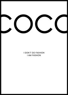 Coco Chanel Art Prints | Produkter / Prints / Posters / Coco Chanel, posters