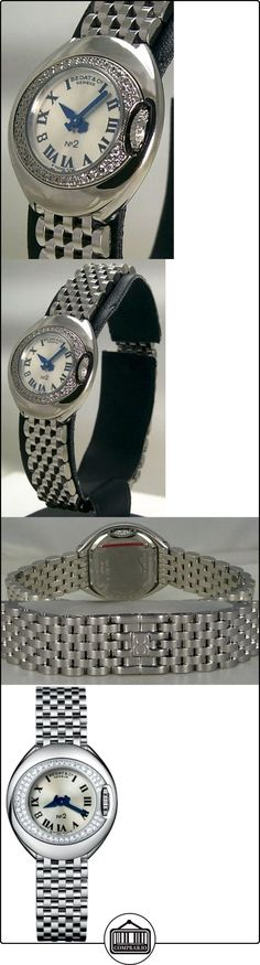 Bedat No. 2 Stainless Steel & Diamond Womens Luxury Swiss Watch 227.031.600  ✿ Relojes para mujer - (Lujo) ✿