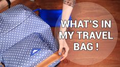 What's in my Travel Bag: Summer Vacation Essentials  #wishtrend #wishtrendtv #travel #summer #vacation
