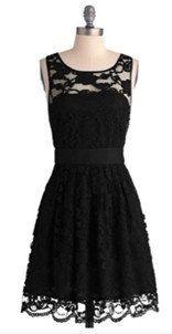 lace bridesmaid dress,black bridesmaid dress,short  bridesmaid dress,sleeveless  bridesmaid dress