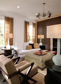 modern home wall brown wood tv wall mounted