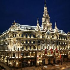 The Boscolo Budapest Luxury Hotel | Luxury Hotels, Hotels in Europe, Best Hotels, Luxury Living, Travels, Best Destinations. For More News: http://www.bocadolobo.com/en/news-and-events/