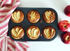 Apple and Almond Muffins - Gluten, Dairy & Refined Sugar Free