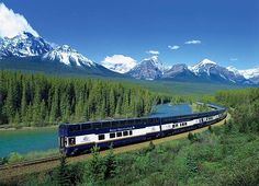Take the Rocky Mountaineer from Vancouver - Banff - Jasper - Vancouver