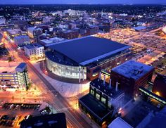 Van Andel Arena- One of the top venues of its size in the world! Home of the Grand Rapids Griffins hockey, featuring shows and concerts all year!