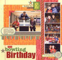 bowling birthday...