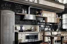 Country English-style for kitchen 40s period - Stile country inglese per la cucina anni 40