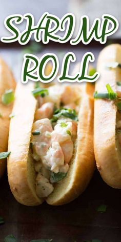 A creamy, seasoned shrimp roll sandwich that is simple, quick, and will leave you perfectly satisfied! Lobster roll, move over, it's time for shrimp rolls to take center stage!