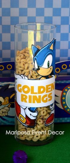 Sonic the Hedgehog Birthday Party Ideas | Photo 7 of 26