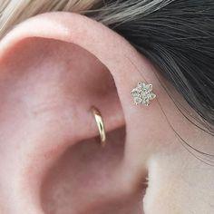 Diamond Flower || Shop this Instagram from @maria_tash and @bentauber